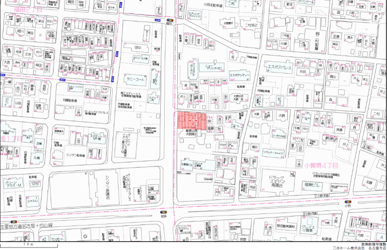 名古屋市港区小賀須4丁目戸建てクリニック用地